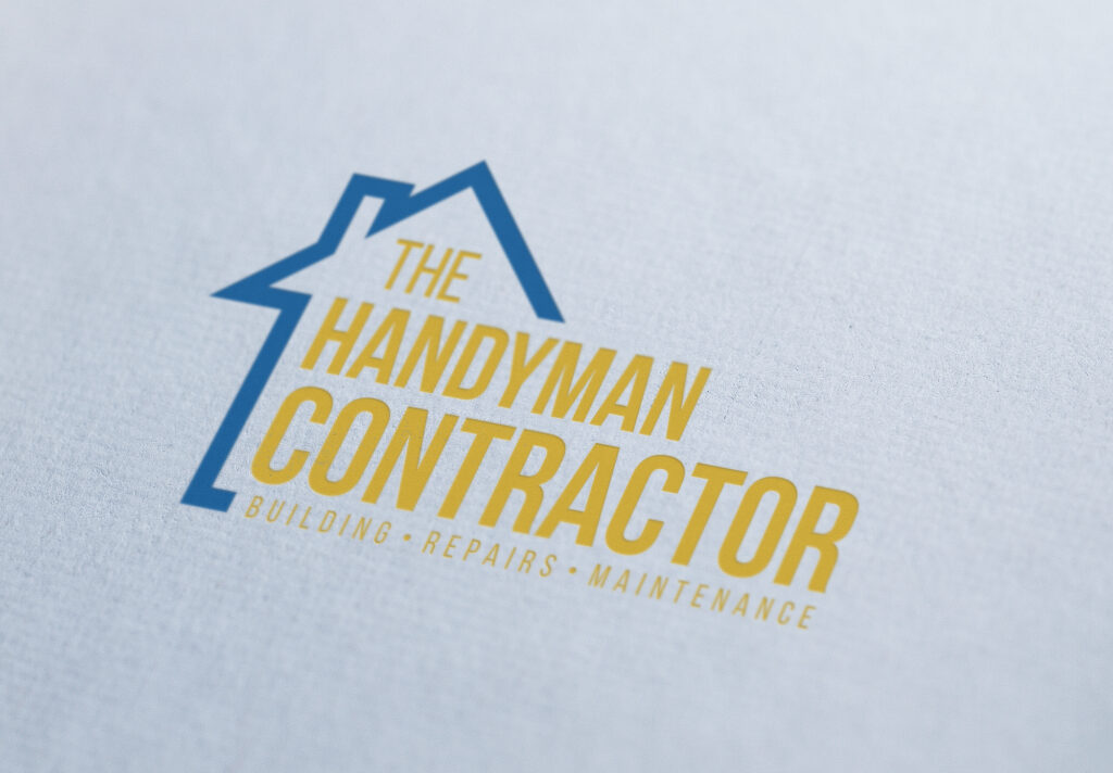 Handy Man Contractor Logo Paper