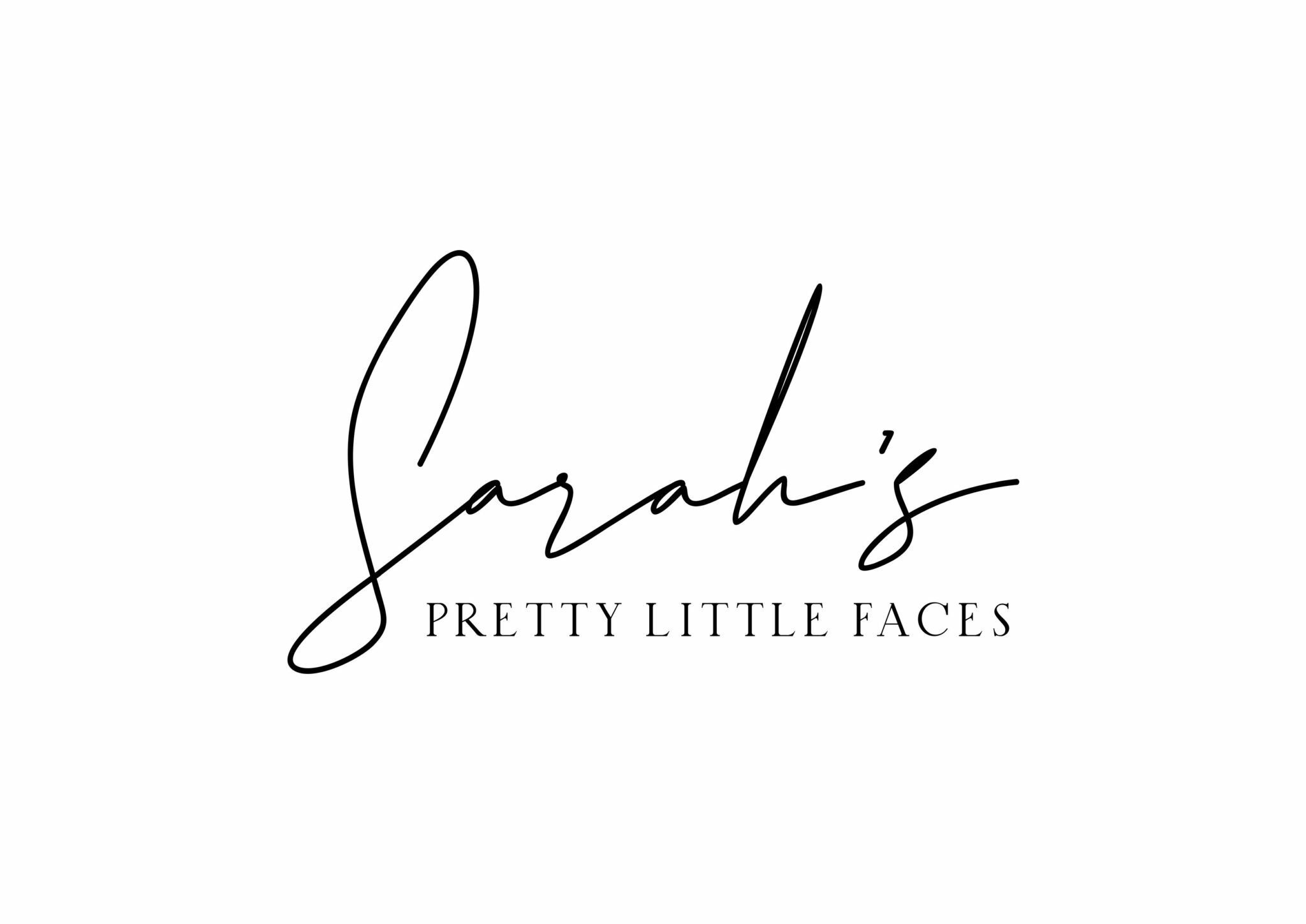 Sarah's Pretty Little Faces - Logo Option