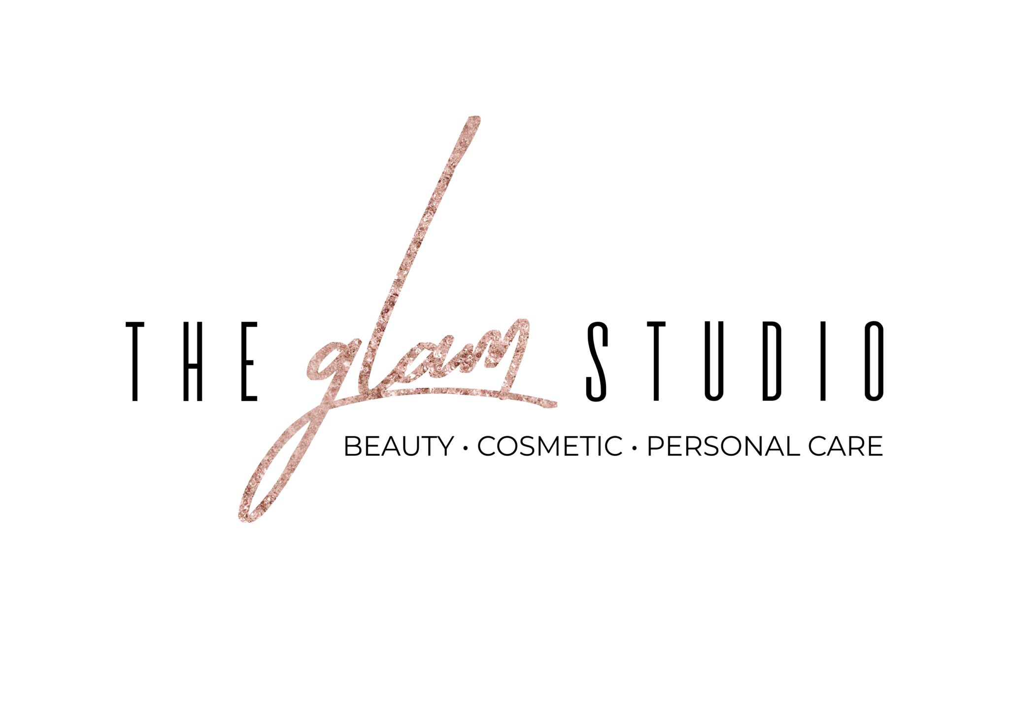 The Glam Studio Logo option 1